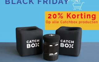 Catchbox korting tijdens black friday