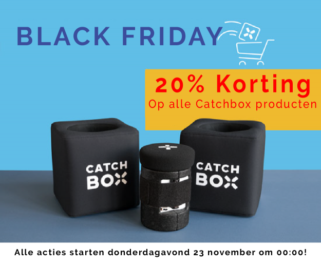 Catchbox korting tijdens Black Friday