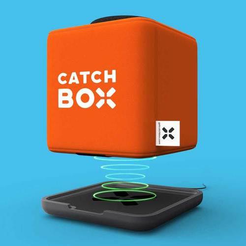 Catchbox plus draadloos laden