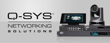 QSC Q-sys Network solutions