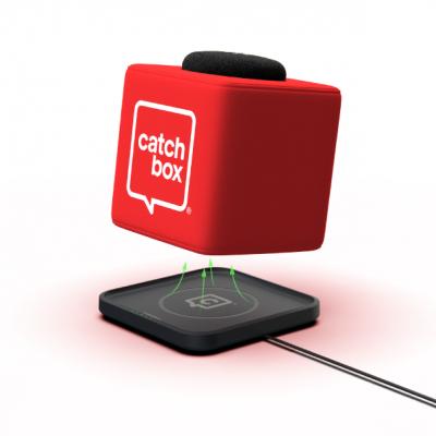 Catchbox Plus met draadloze lader