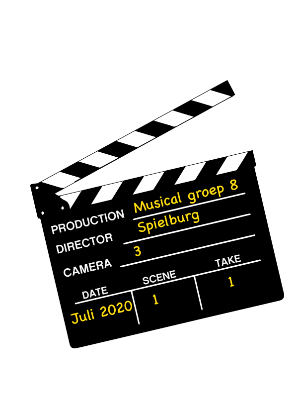 schoolmusical groep 8 filmen